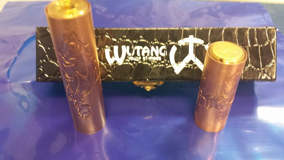 WUTANG house of mods. 18650 and 18350 tubes included.