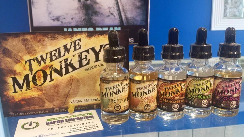 Twelve Monkeys eJuice